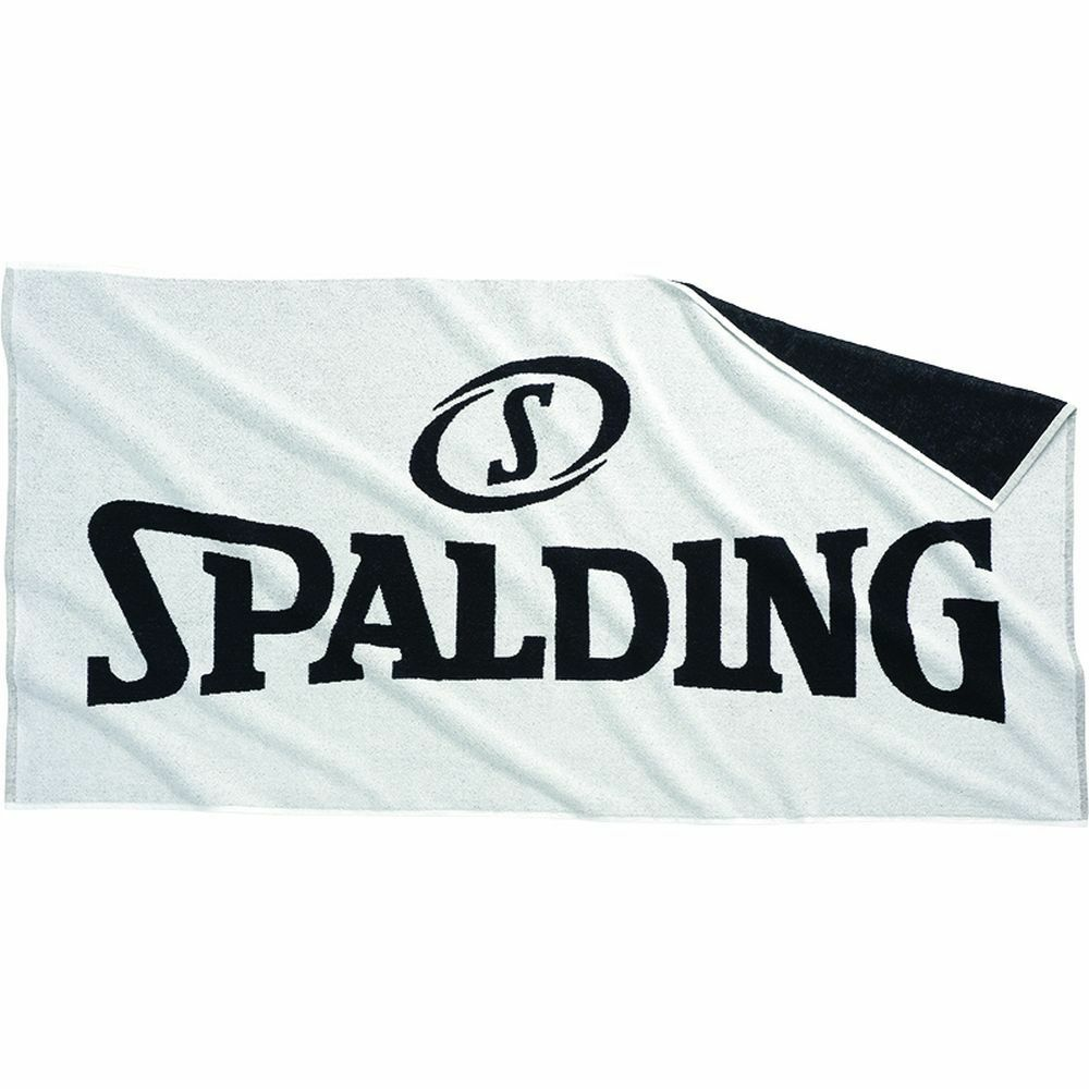 Spalding Basketball Training Zubehör Badetuch white black