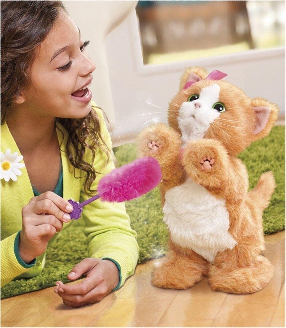 FurReal Friends Daisy Mein Fur Real Kätzchen Katze Katzenspielzeug Spielzeug