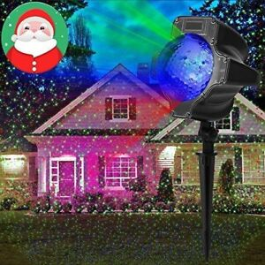 Image Is Loading Christmas Star Shower Led Laser Light Projector Outdoor