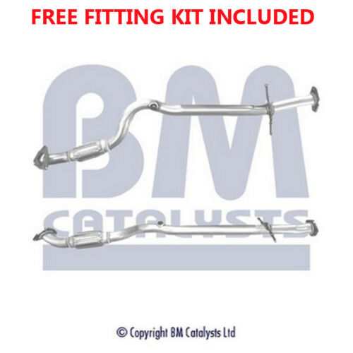 Fit with VAUXHALL ASTRA Exhaust Connecting Pipe 50324 1.6 Fitting Kit Included