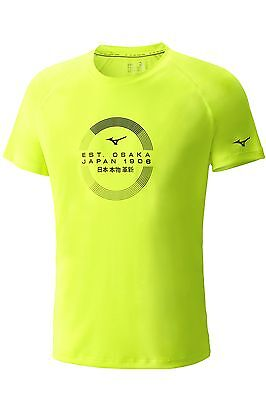 Clothing, Shoes & Accessories Lovely T-shirt Kurzarm Mizuno Trasnsform Tee Herren J2ga6015-45 Pretty And Colorful