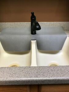 Gray Kitchen Sink Faucet Splash Guard Protects Granite Sink Edge From Chipping Ebay
