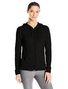 Hanes-Womens-Activewear-Jersey-Full-Zip-Hoodie-L-Select-SZ-Color