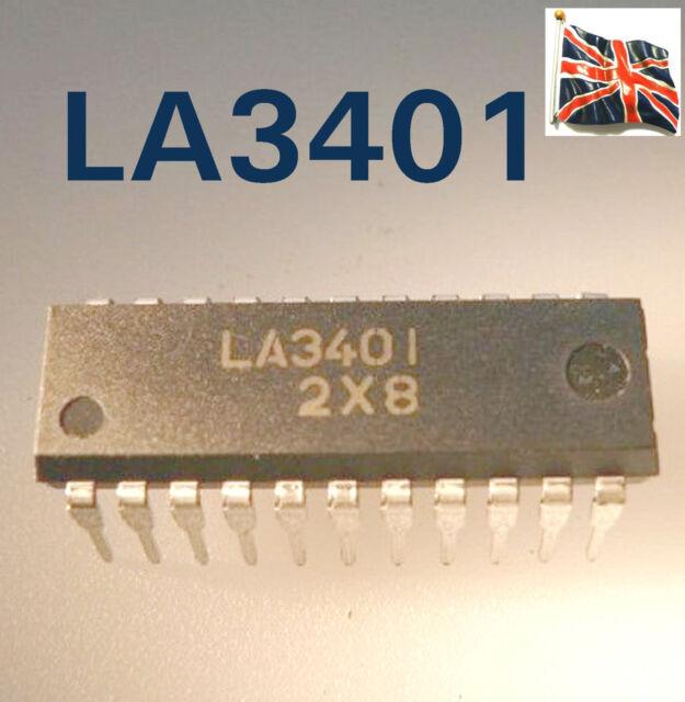LA3401 SANYO VCO circuit intégré PLL DIP22 UK Stock