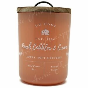 DW-Home-Large-15-1oz-Candle-56-Hour-Large-Double-Wick-Peach-Cobbler-amp-Cream