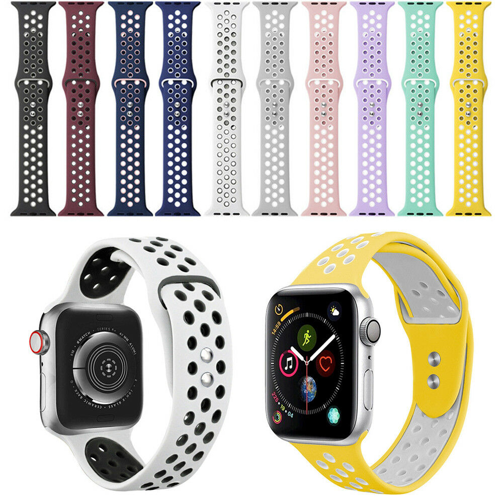 iwatch: Silicone Bracelet Band Strap For Apple Watch For iWatch Series 1/2/3/4/5 Replace