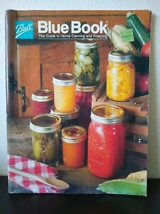 Ball Jar Blue Book Guide to Home Canning Freezing 1985 Homesteading See photos