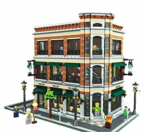 2020 NEW 15035 Bar and Financial Company Classic Building blocks MOC creator