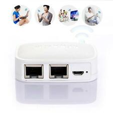 300m Tragbar RJ45 Router Mini Verstärker 3G Kabelloses Modem USB Speicherstick