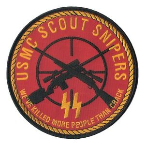 USMC Scout Sniper Patch - Marine Corps Infantry and ...