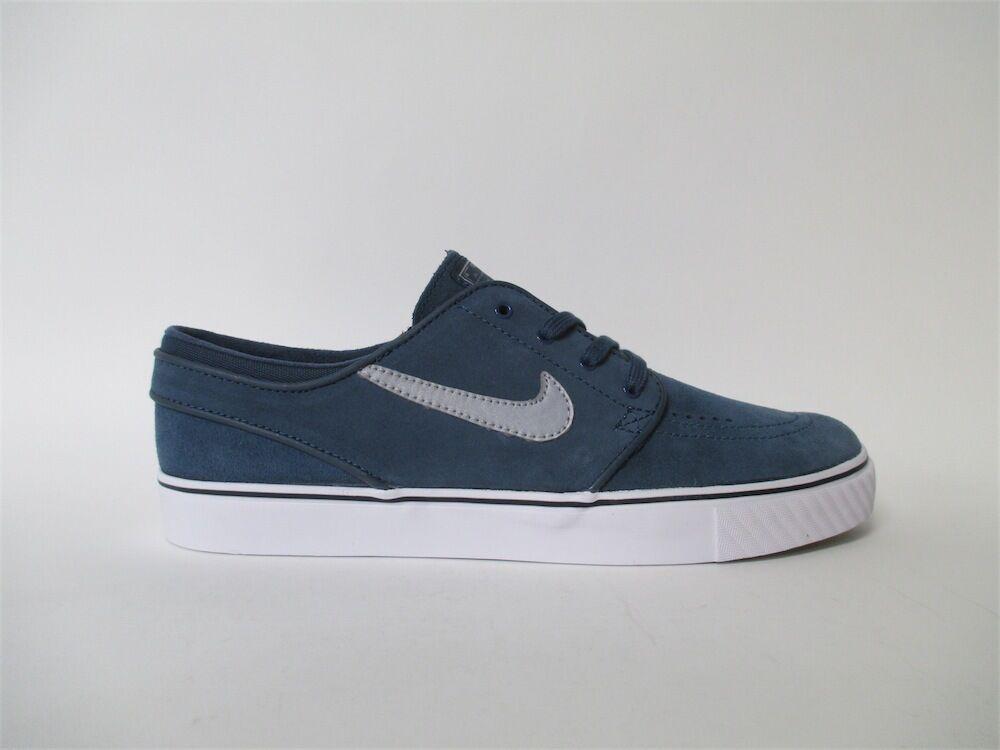 Nike SB Zoom Stefan Janoski Squadron Blue Silver White Sz 12 333824-407