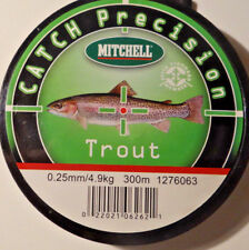 1m//1cent Mitchell Catch Precision Pike 0,30-0,40mm.300m Tr//kr.:6,3-10.5kg