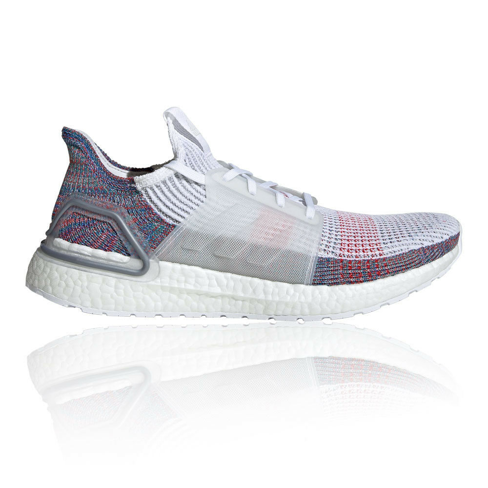 Adidas Mens Ultra Boost 19 Running shoes Trainers Sneakers White Sports