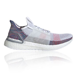 749cc9942 adidas Mens Ultra Boost 19 Running Shoes Trainers Sneakers White ...