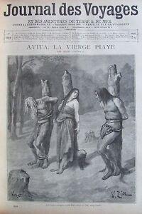 Zeitung-der-Voyages-Nr-919-von-1895-Legende-Tumuc-Humac-Avita-die-Madonna-Piaye