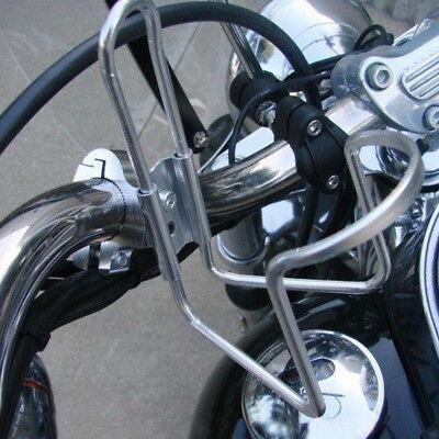 Motorcycle Bike Handlebar Drink Cup Holder Beverage Water Bottle Stand Universal