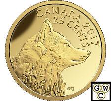 2017 Inuit Arctic Fox-Predator vs.Prey Prf 25ct Gold Coin .9999 Fine(NT)(17763)