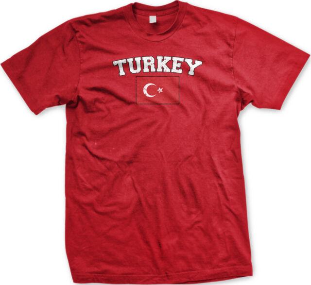Turkey Country Flag Turkish Türkiye Pride Football Soccer Long Sleeve Thermal