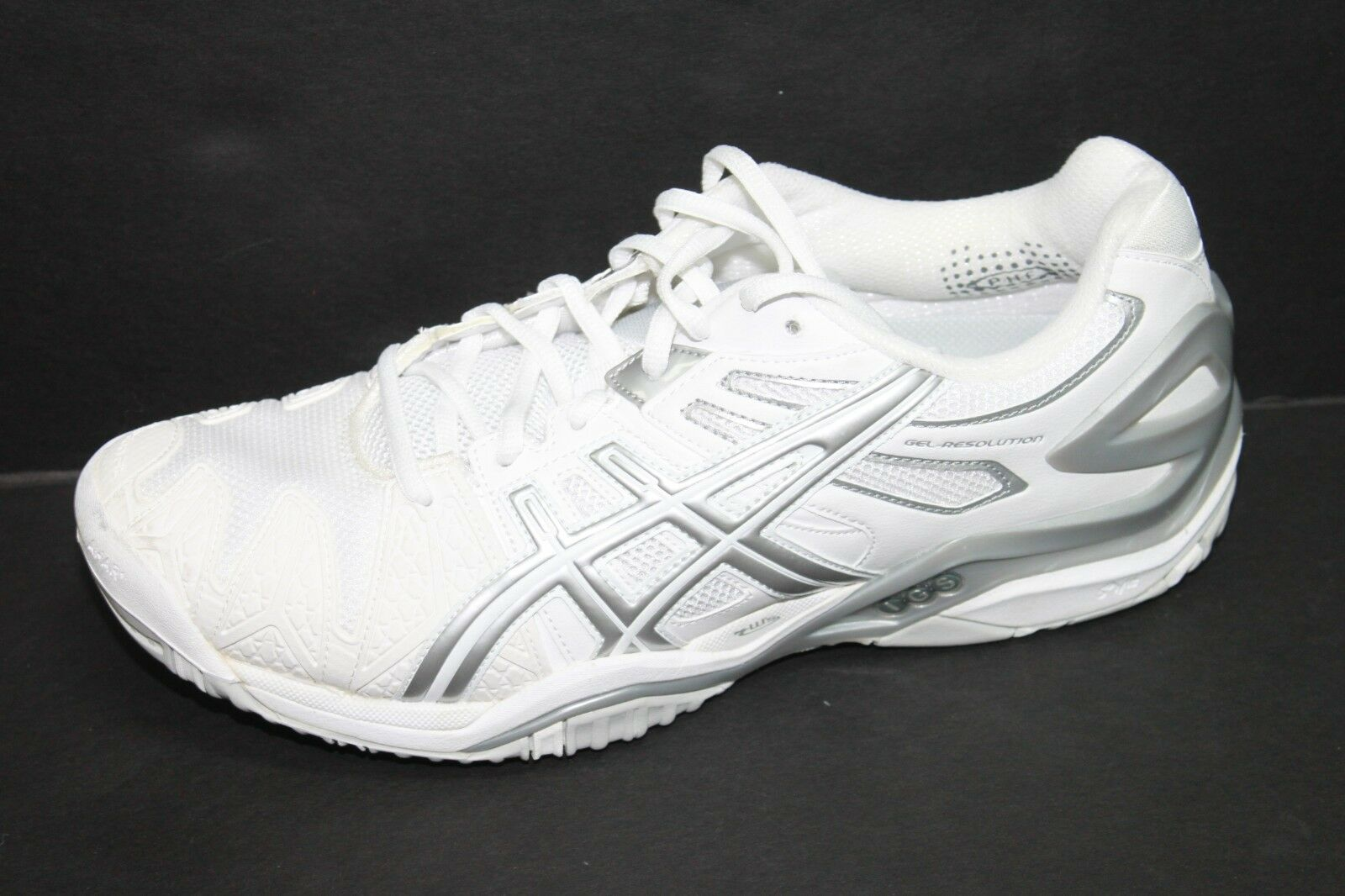 Donna ASICS E350Y Gel-Resolution F140912 bianca Athletic Shoes Sz 12 NWOB