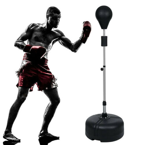 PRO Adult Boxing Punch Ball Stand Set Exercise Equipment Agility Training MMA