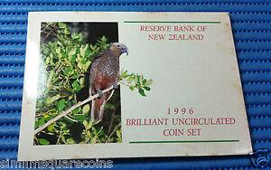 1996-New-Zealand-Brilliant-Uncirculated-Coin-Set-5-Kaka-Bird-Coin