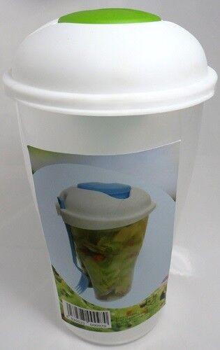 24x Salat to go - Aufbewahrungsbehälter  Set 4tlg. farblich sortiert    5072 | Adoptieren