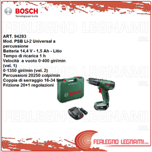 BOSCH-V-TRAPANO-BATT-PSB1440LI-2-Batteria-14-4-V-1-5-Ah-Litio-ART-94283