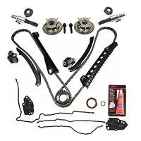 For Ford Lincoln 5.4 Triton 3-valve Timing Chain Kit Cam Phaser Gasket Vvt Valve