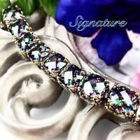 Park Lane signature Tennis Bracelet - Northern Lights - Orig $843 - Read