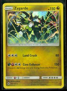 pokemon zygarde 100 147 burning shadows rare holo mint ebay