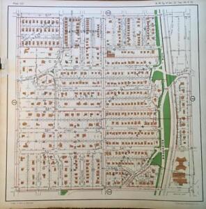 Details about 1925 KANSAS CITY MISSOURI CRESTWOOD BROOKSIDE HOTEL ROCKHILL  PARK ATLAS MAP