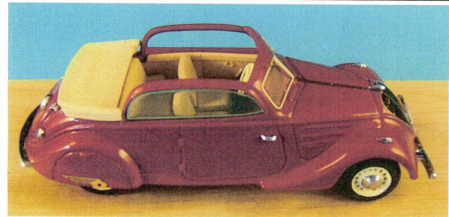 Kit pour miniature auto CCC   Peugeot 402 découvrable référence 196