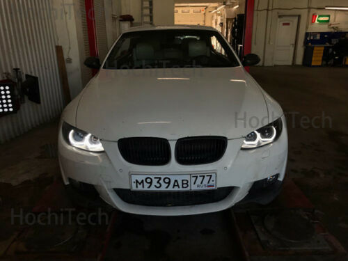 White LED Angel Eyes DRL Acrylic DTM M4 Style For BMW 3 Series F30 F31 F34