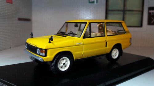 1:43 Scale Model Suffix A Range Rover Classic 3.5 V8 2 Door 1970 Whitebox Yellow