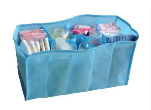 Baby Nappy Diaper Changing Stuff Organizer Travel Container Insert Bag 1Pair