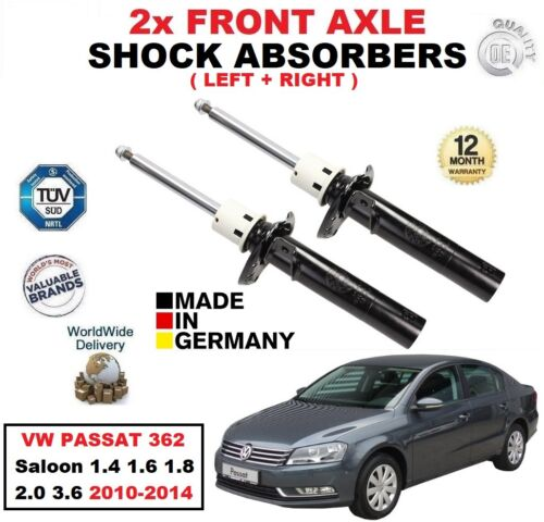 FRONT SHOCK ABSORBERS SET for VW PASSAT 362 Berlina 1.4 1.6 1.8 2.0 3.6 1014