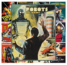 "Mini Posters Space Sci Fi Alien Vintage Trash Movie MP447 13 posters 8/""x11/""//A4"