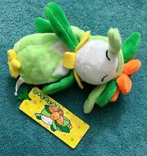 Lilligant Pokemon Center Kuttari Plush MWT Sleep Version 2016 Stuffed Toy Doll