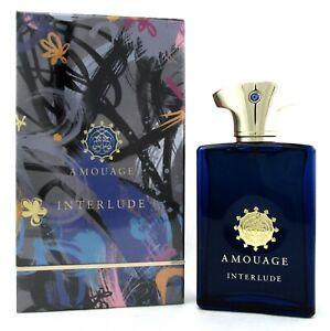 Amouage Interlude Men Cologne by Amouage 3.4 oz EDP Spray New in Sealed Box