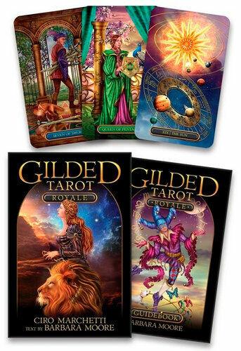 NEW Gilded Tarot Royale - Tarot Card Deck By Ciro Marchetti Card or Card Deck