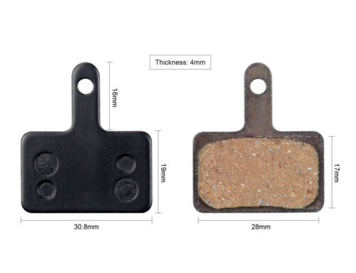 Semi Metal Resin Disc Brake Pads for TRP HYRD HY//RD Spyre Hylex Hywire 2 Pairs