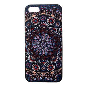 Mandala-Floral-Pattern-Designer-Hard-Back-Case-Cover-for-Apple-iPhone-5-5S-5th