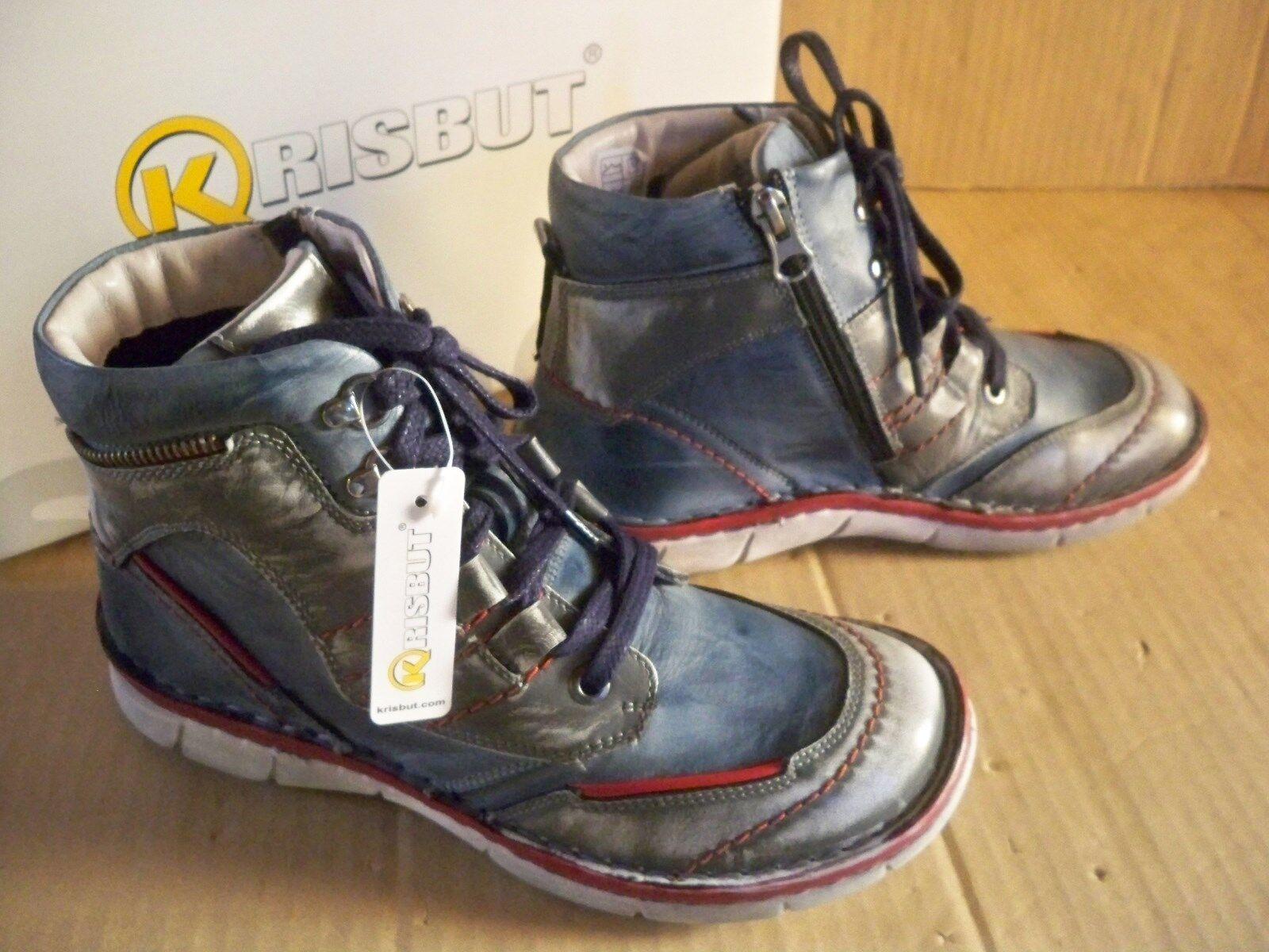 Krisbut Krisbut Krisbut señora botas azul talla 36 3073-4-4 lotes suela interior ligero forraje 9547f4