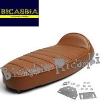 8904 - SELLA SELLONE MARRONE FASTBACK VESPA 50 125 PK S XL N RUSH