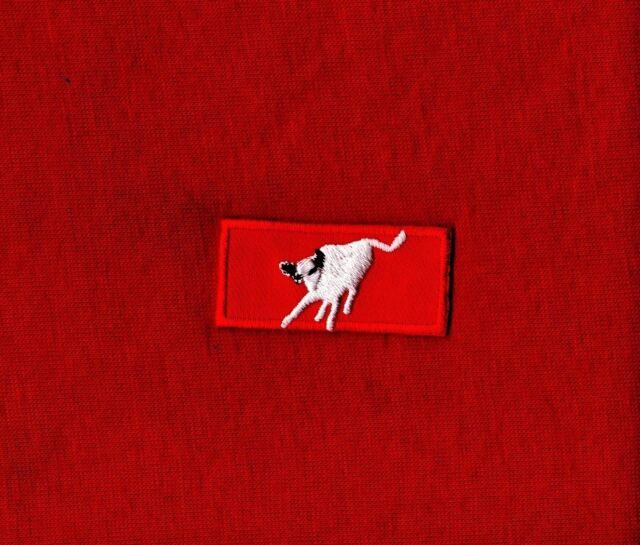 Philmont Bull KNOT Patch Boy Scout Trek red jacket coat WOMENS LADIES WHITE BULL