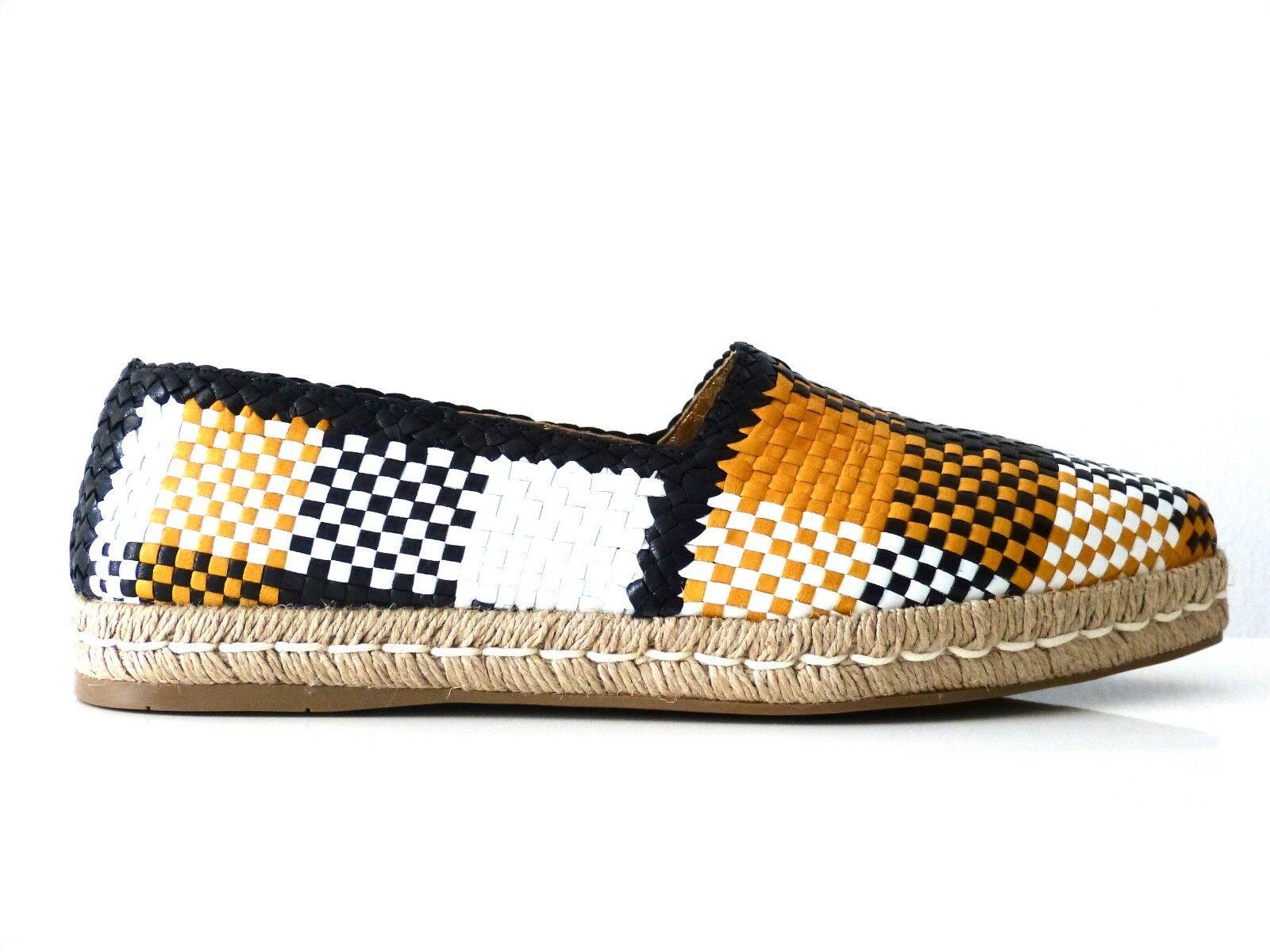 PRADA SCHUHE ESPANDRILLES LOAFER Schuhe MADRAS MULTICOLOR EU:39,5 NEU/NEW