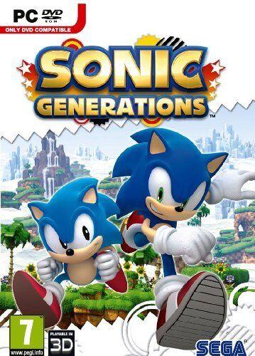 Sonic Generations PC DVD