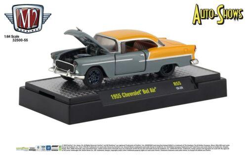 M2 Machines Auto Shows 1:64 1955 Chevrolet Bel Air Release 55