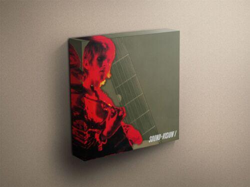 "David Bowie /""Sound Vision I/"" Cover Art Canvas Art Print #002477"