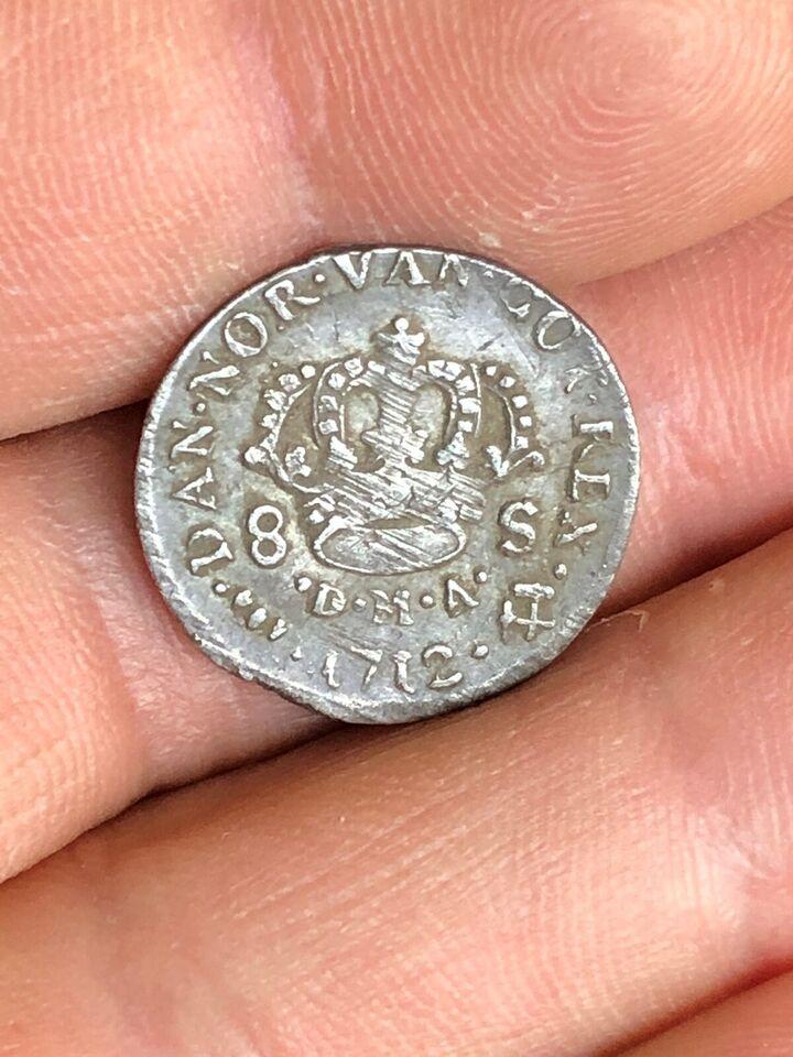 Danmark, mønter, 1712